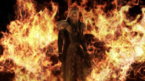 sephiroth fire